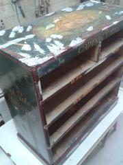 Restauración de muebles antiguos.