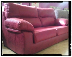 Sofa 3 plazas telas actuales