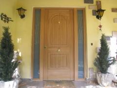 Puertas Acorzada con fijos laterales