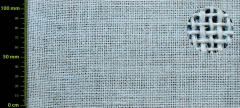 Tejido de yute 280 gr/m2 - azul celeste