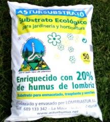 Sustrato ecol�gico ASTURSUBSTRATO JARDINER�A Y HORTICULTURA