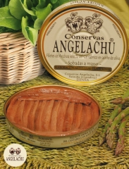 Filetes de anchoas latas ro.180 y ro.550 conservas angelachu
