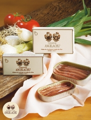 Filetes de anchoas latas rr.50 y rr.90 conservas angelachu