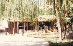 Nuestros jardines y terrazas-hostal cristi **-candelario-salamanca