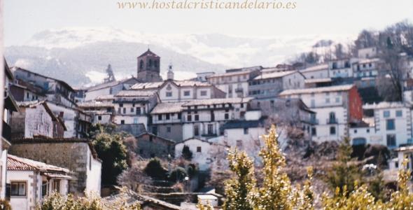 Hostal Cristi**, Candelario. Vistas desde nuestro establecimiento.