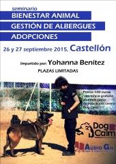 Seminario bienestar animal, gestión de albergues y adopciones, con yohanna benítez