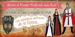 Disfraces medievales con disfracesmimo