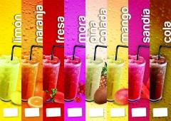Granizados de sabores