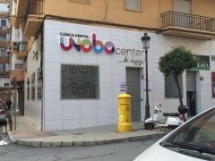 Fachada clinica dental unoba center