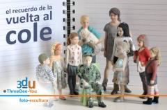 Vuelta al cole 2015 - threedee-you foto-escultura 3d-u