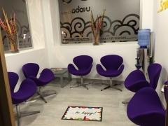 Sala de espera clinica dental unoba center