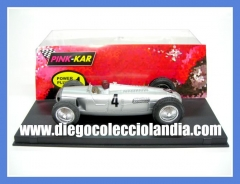 Auto union type c de pink kar ref/ cv034 . www.diegocolecciolandia.com . tienda slot madrid espa�a