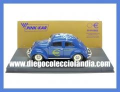 Vw beetle euro de pink kar ref/ cv2002 . www.diegocolecciolandia.com . tienda slot madrid espa�a
