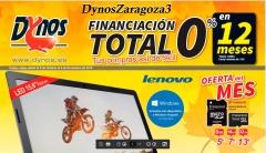 Dynos Zaragoza, ofertas con financiaci�n sin intereses