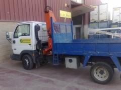 Camiones de 3500 Kg con grua