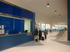 Reforma integral en la estaci�n de autobuses de marbella