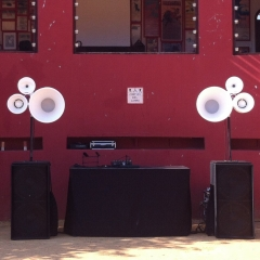 Evento con sistema de sonido void acoustics