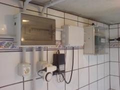 Sala de maquinas piscina hormigon revestimiento vinil. // obra manfred fl�gel (tendi�a) la palma