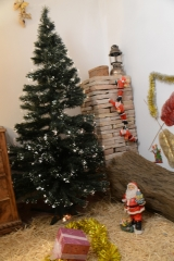 Escenario navideño para sesiones navideñas
