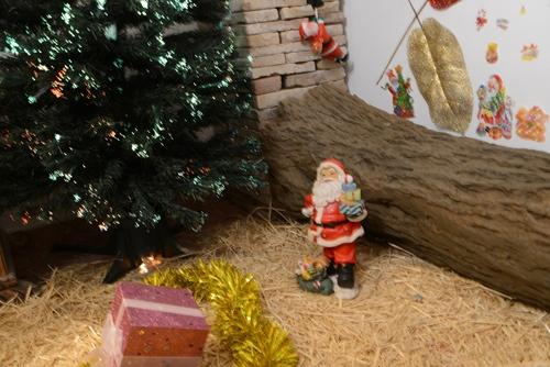 Escenario navide�o para sesiones navide�as