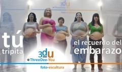 T� tripita - recuerdo del embarazo - threedee-you foto-escultura 3d-u