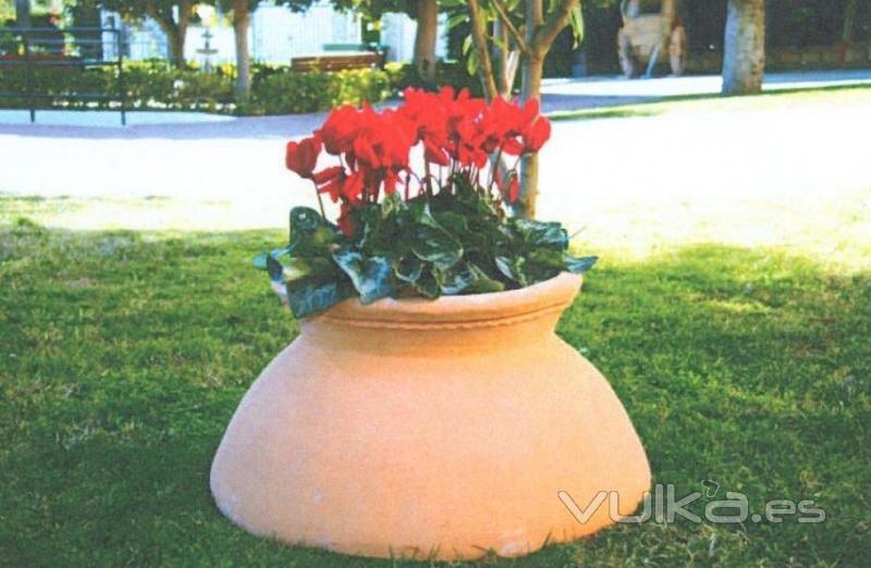 Foto jardineras de terracota - Jardineras de terracota ...