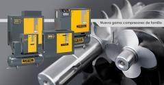 nuevos compresores de tornillo gama Nuair