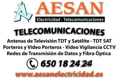 Antenas televisi�n salamanca, antenistas