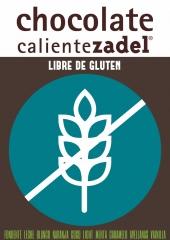 Chocolate Caliente ZADEL Libre de Gluten.