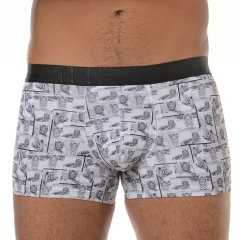 Boxer estampado hom lycra boxer-tiger winter print underwear intimo hombre chico lenceriaemi.com