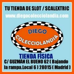Tienda scalextric en espa�a,madrid. www.diegocolecciolandia.com .coches,accesorios scalextric madrid