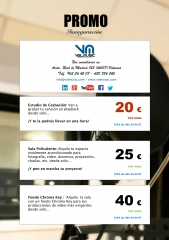 Alquiler de sala polivalente desde solo 25 eur y sala chroma key desde 40 eur