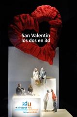 Regalo de san valent�n 2016 - threedee-you foto-escultura 3d-u