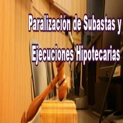 Paralizacion de subastas y ejecuciones hipotecarias