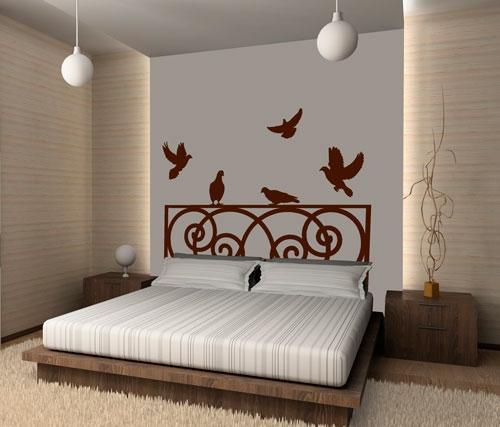 Murales de pared - Vinilos decorativos para cabeceros de cama ...