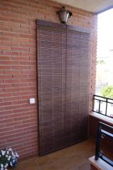 Alicantinas madera, pvc