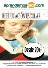 REEDUCACI�N ESCOLAR- DISLEXIA, DESATENCI�N, GRANOLLERS