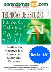 T�CNICAS DE ESTUDIO GRANOLLERS