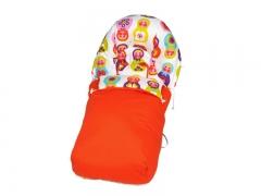 Saco para silla de paseo de beb�  sasha sveta, coloridas mu�ecas rusas sal de coc�.