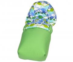 Saco para silla de paseo de beb�s blues st tropez, peces azules, verdes. de sal de coc�.