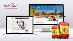 Diseño web de Familieo.com y Familieo.es