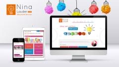 Diseño web de NinaLauder.com