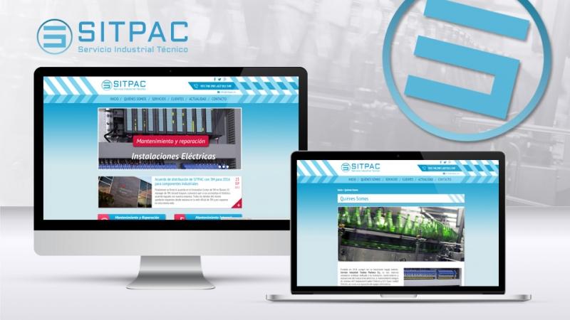 Diseño web de Sitpac.es