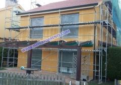 Rehabilitacion fachada chalet - tel. 654896941