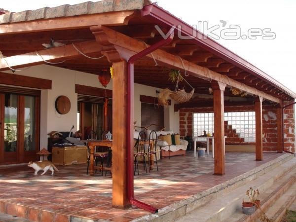 Foto porche de madera - Porches de madera valencia ...