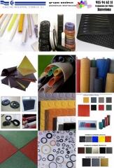 Fabricacion de caucho y plastico