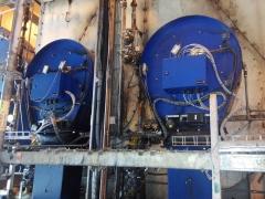 Quemadores industriales en central termoel�ctrica r�o turbio