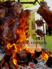 Catering barbacoas a domicilio