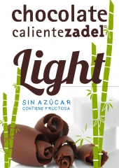 Chocolate Caliente ZADEL Light Sin Az�car, contiene fructosa.