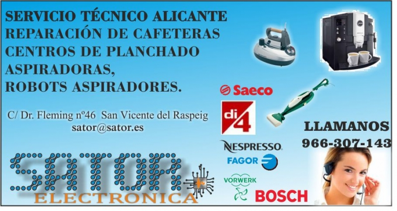 Servicio tecnico en alicante sator - Reparacion tv valencia ...
